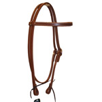 Berlin Leather Economy Browband Headstall