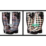 M&F Western Round Toe Rain Boots- 2 Colors