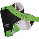 Classic Equine Cool Wrap Horn Wrap for Team Roping Steers - Green Strap