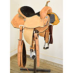 "New! 13.5"" HR Custom Barrel Saddle"