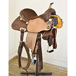 "New! 14"" HR Custom Barrel Saddle"