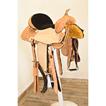 "New! 15"" HR Custom Barrel Saddle"