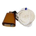 Jerry Beagley Calf Riding Rope With Bell