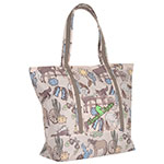 Classic Equine Frontier Print Large Tote Bag