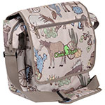 Classic Equine Frontier Print Messenger Bag