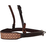 Rafter T Tack Brown Design Noseband with Whipstitch