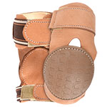 Classic Equine Pro Reiner Leather Skid Boots With Double Closure