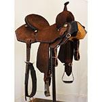 "New! 14.5"" Scott Thomas Custom Saddles Barrel Racing Saddle"