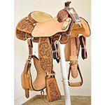 SOLD! Scott Thomas Custom Saddles Calf Roping Saddle