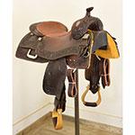 """SOLD New! 16"""" Scott Thomas Custom Saddles Reining Saddle"""