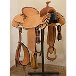 "NEW! 16"" Scott Thomas Custom Saddle TR100 Team Roping Saddle"