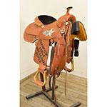 """Used 12.5"""" Twister Saddle Shop JRCA Trophy Saddle"""