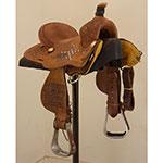 "Used 12"" Coolhorse Youth JRCA Trophy Saddle"
