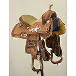 "Used 12"" NRS Competitor Trophy Barrel Saddle"