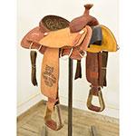 """Used 14"""" Tod Slone Saddles Diamond S Trophy Saddle"""
