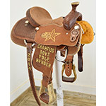 "Used 13"" NRS Competitor JRCA Trophy Saddle"