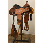 """Used 14.5"""" Coolhorse Trophy Calf Roping Saddle"""