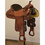 """Used 14.5"""" Hereford Brand Pleasure Saddle"""