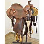 "Used 14.5"" James Downey Ranch Saddle"