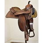 """Used 14.5"""" Hereford Saddle"""