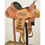 "Used 14"" Cowboy Classic Saddlery Barrel Racing Saddle"