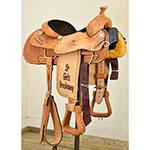 """Used 14"""" Cowboy Classic Saddlery Trophy Roping Saddle"""