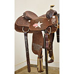 "Used 14"" Coolhorse Trophy Calf Roping Saddle"