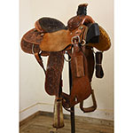 """Used 14"""" Coolhorse Team Roping Saddle"""