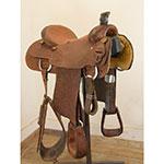 """Used 15.5"""" Dale Martin Roping Saddle"""