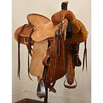 "Used 15"" Billy Cook Saddlery Ranch Saddle"