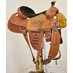 "Used 15"" Cactus Champion Trophy Roping Saddle"