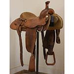 """Used 15"""" Roping Sanchez Saddle"""
