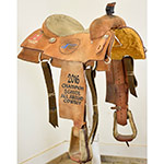 "Used 15"" Slone Saddles Diamond S Series Roping Saddle"