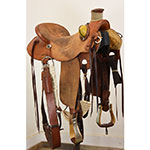 """Sale Pending! Used 16"""" McCall Mclite Wade Ranch Saddle"""