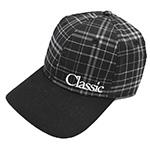 Classic Rope Grey Plaid Mesh Back Cap