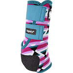 Classic Equine Legacy2 Hind Protective Boots- Fiesta