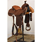 "New! 15"" Coolhorse Saddles Team Roping Saddle"
