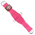Classic Equine 27 Strand Mohair Roper Cinch- Pink