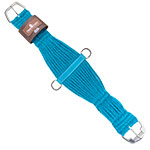 Classic Equine 27 Strand Mohair Roper Cinch- Turquoise