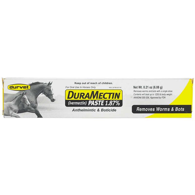 Durvet DuraMectin 1.87% Ivermectin Horse Wormer Paste