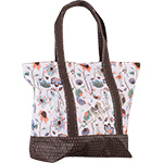 Classic Equine Large Tote- In Bloom