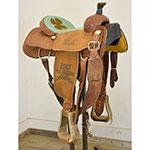 "Used 14"" Tod Slone Diamond S Series Roping Saddle"