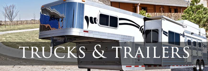 Horse Trailers & Trucks for Pulling Them at Coolhorse