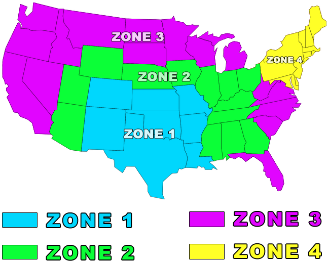 Roping dummies shipping zone